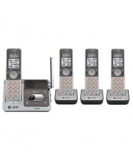 AT&T CL82401 DECT6.0 Caller ID Announce Digital Answerer Push-To-Talk Speakerphone