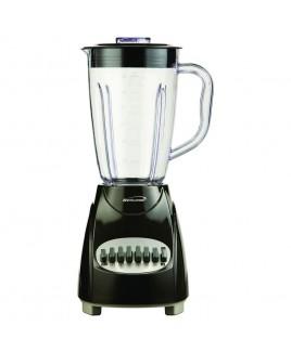 Brentwood 12 Speed Blender Plastic Jar - Black
