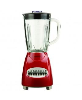Brentwood 12 Speed Blender Glass Jar - Red