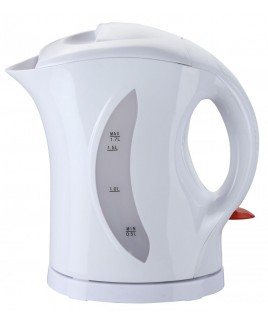 Brentwood 1.7 Liter Cordless Plastic Water Kettle - White