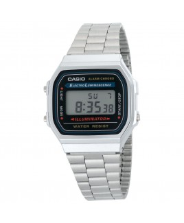 Casio A168W-1 Classic Digital Water Resistant Watch with EL Backlight