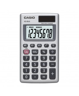 Casio 8-Digit Solar Plus Pocket Calculator