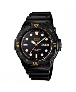 Casio Classic 100-Meter Water Resistant Diver-look Watch with Day/Date Display