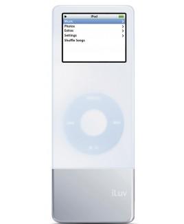i-Luv 37hr. Maximum iPod Nano Battery and Skin, White