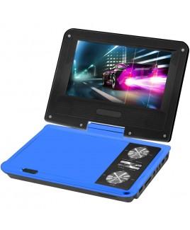 IMPECCA 7 Inch Swivel Portable DVD Player, Blue
