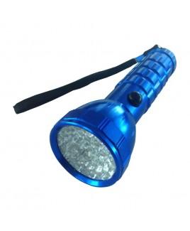 IMPECCA Hi-Lite 28-LED Flashlight, Blue