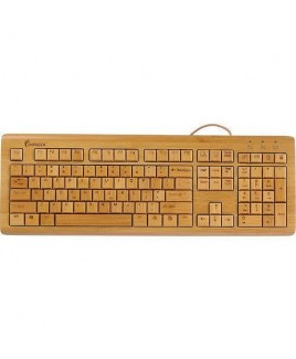 IMPECCA KBB500 Full Bamboo Custom Carved Designer Keyboard