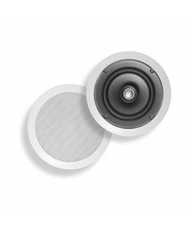 Polk Audio Round 2-Way Coaxial In-Ceiling Loudspeaker, White