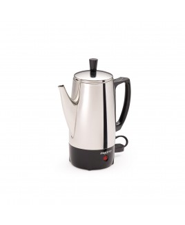 Presto 6-Cup Stainless Steel Coffee Maker