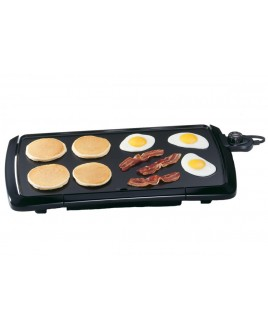 Presto 20-Inch Cool Touch Griddle, Black