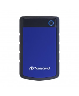 Transcend StoreJet 2TB Rugged USB 3.0 External Portable Hard Drive, Blue