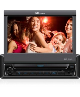 XO Vision 7 Inch Touch Screen DVD Receiver with Built-in Bluetooth
