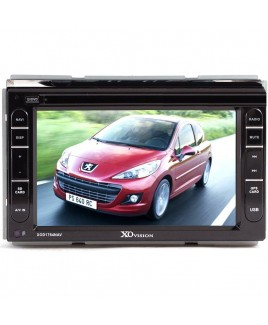 XO Vision Double DIN 7-Inch Touch Screen Receiver with Built-in GPS Navigation