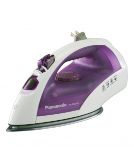 Panasonic Steam and Dry Iron with U-Shape Steam Non-Stick Satinless Steel Soleplate and 3 way auto off