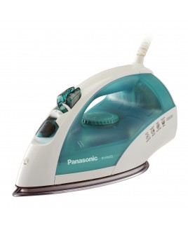 Panasonic 1700 Watt Steam and Dry Iron with U-Shape Steam Non-Stick Titanium Curved Circulating Soleplate and 3 way auto off