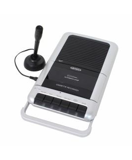 JENSEN Portable Cassette Player/Recorder with External Mic