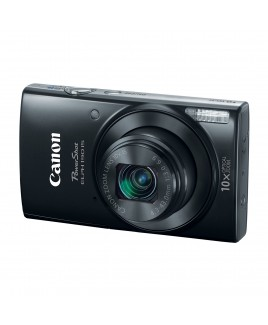 Canon PowerShot ELPH 190 IS 20.0 Megapixel Digital Camera with WiFi, 10x Optical Zoom, 720p HD Video, and 2.7in LCD, Black