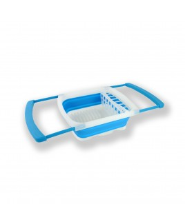 Cookinex Cpllapsible Dish Rack, Blue
