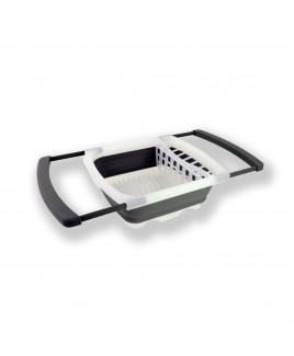 Cookinex Collapsible Dish Rack, Gray