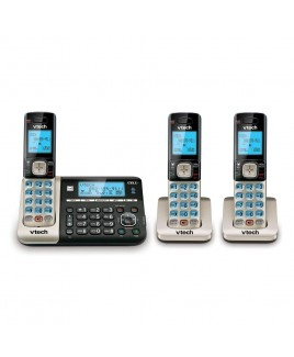 Vtech 3 Handset Connect to Cell Answering System with Dual Caller ID/Call Waiting