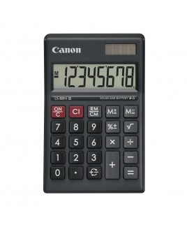 Canon LS-88Hi II Mini-Desktop Calculator with Large 8-Digit Angled Upright LCD Display