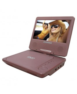 Sylvania SDVD7014 7-Inch Widescreen Portable DVD Player, Pink