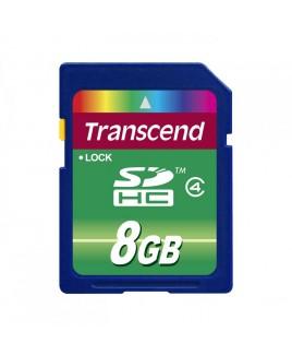 Transcend SD High Capacity 8GB Card <em>Class 4</em>