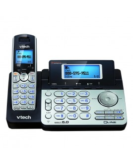 Vtech DS6151 2-Line Expandable Cordless Phone with Caller ID and Digital Answerer
