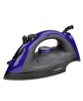 Cookinex 1200 Watts Full Function Steam Iron, Blue