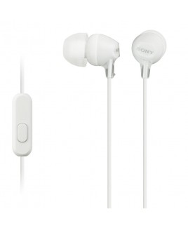 Sony EX Monitor Headphones with In-line Mic, White