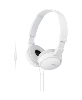 Sony Extra Bass Smartphone Headset with In-line Mic, White