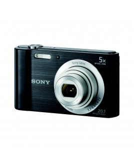 Sony CyberShot W800 20.1 MP Compact Camera with 5x Optical Zoom and 2.7-inch LCD, Black