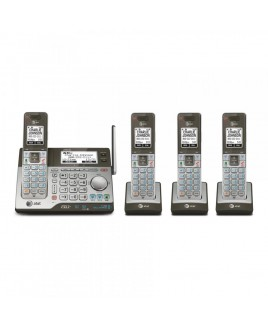 AT&T 4-Handset Connect to Cell Answering System with Dual Caller ID