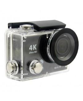 Naxa Waterproof 4K Action Camera, Shiny Black
