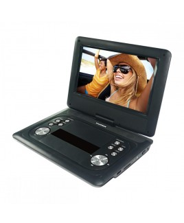 Sylvania SDVD1251 Portable DVD Player with 12-inch Swivel LCD Screen