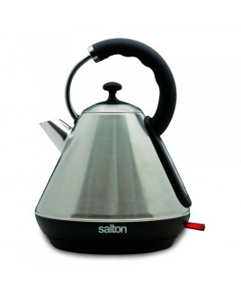 Salton Retro Pyramid 1.8L Brushed Stainless Steel Cordless Kettle