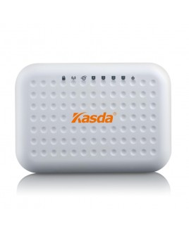 Kasda Networks Wireless-N 300Mbps Wireless Router with 2x Internal 3dBi Antennas