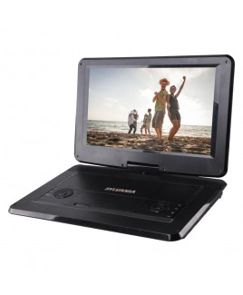 Sylvania Portable Multimedia DVD Player with 15.6 inch Swivel Screen