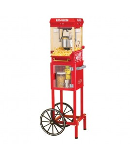 Nostalgia 45-inch Popcorn Cart with 2.5 oz. Kettle