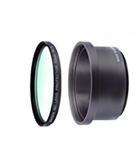 Raynox PFR-Z10 MC Lens Protector Filter &RT5245MD Lens Holder kit