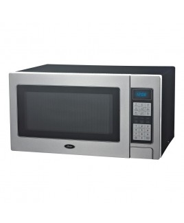 Oster 1.1 Cu. Ft. 1000 Watts Microwave Oven, Full Stainless Steel Front Panel