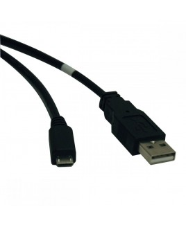Tripp Lite 3-ft. USB 2.0 Hi-Speed A to Micro-B Cable (M/M)