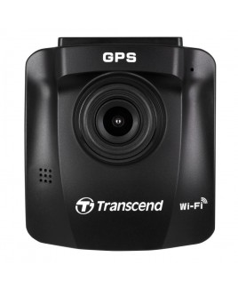 "Transcend DrivePro™ 230 Wi-Fi Dashcam with 2.4"" Color LCD and 16GB High Endurance microSD Card"