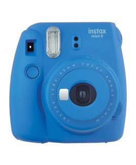 FujiFilm instax mini 9 Instant Film Camera, Cobalt Blue