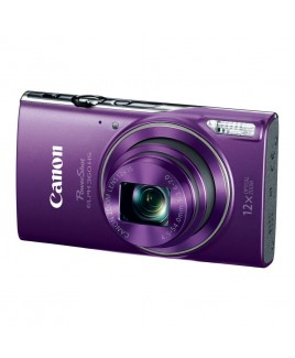 Canon PowerShot ELPH 360 HS 20.2 Megapixel Digital Camera, 12x Optical Zoom, Wi-Fi, NFC, 1080p Full HD Video, 3.0-inch LCD - Purple