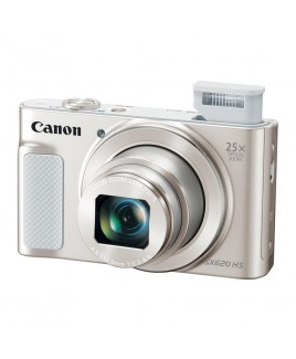 Canon PowerShot SX620 HS 20.2 Megapixel Digital Camera, 25x Optical Zoom, Wi-Fi, NFC, 1080p Full HD Video, 3-inch LCD - Silver