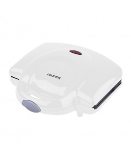 Courant 2-Slice Compact Sandwich Maker, White