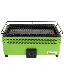 Brentwood Portable Smokeless BBQ - Green