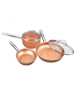 Cookinex 5 Piece Copper Cookware Set
