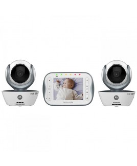Motorola Digital Video Baby Monitor with Wi-Fi Internet Viewing and Two Cameras